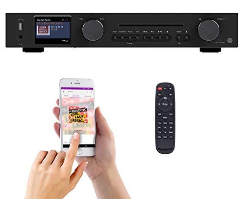 VR-Radio Internet Tuner: WLAN-HiFi-Tuner mit Internetradio, CD, DAB+,...