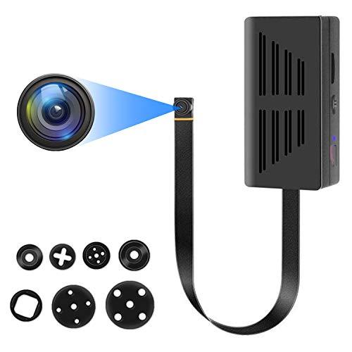 Mini Kamera, Full HD 1080P Mini überwachungskamera, Tragbare Kleine...