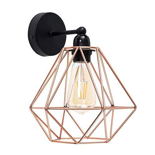 Vintage Metall Draht Käfig Lampenschirm Wandlampe Deckleuchte -...