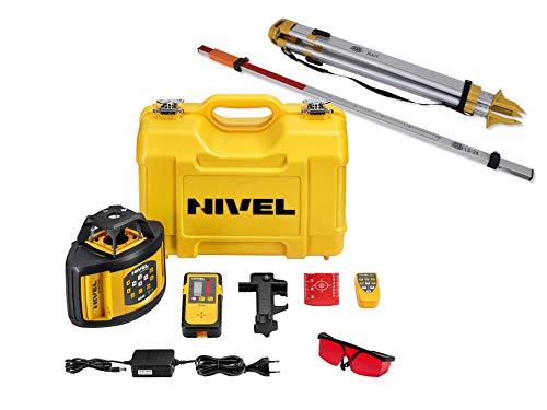 Baulaser Nivel System NL520 Rotationslaser manueller Neigung für...