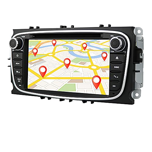 Android 10 Auto GPS-Navigation Bluetooth 2 Din Auto-Multimedia-System...
