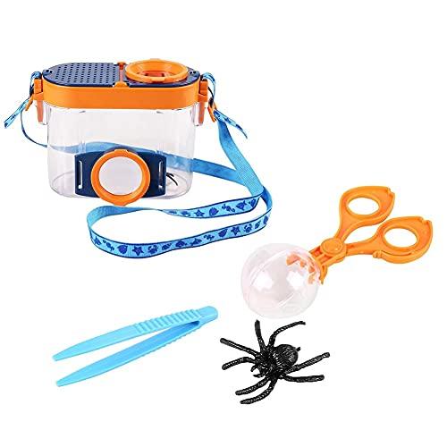 JJWC Kinderspielzeug Insekt Viewer mit Vergrößerungsmikroskop Kind...