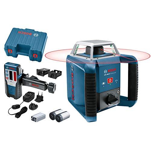 Bosch Professional Rotationslaser GRL 400 H (Ein-Knopf-Bedienfeld,...