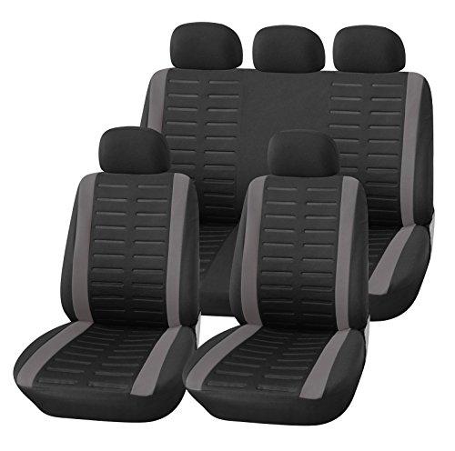 Upgrade4cars Auto-Sitzbezüge Set Universal | Auto-Schonbezüge...