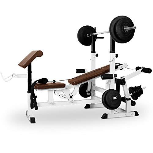 Klarfit Workout Hero 3000 - Kraftstation, Fitnessstation,...