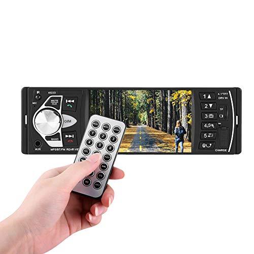 Auto MP5 Player, 4.1 Zoll HD Bluetooth Auto MP5 Video Player...