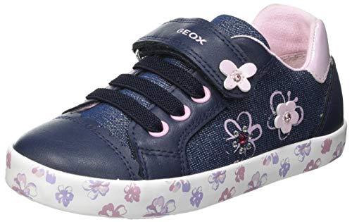 Geox Baby-Mädchen B Kilwi Girl F Sneaker, AVIO/PINK, 26 EU