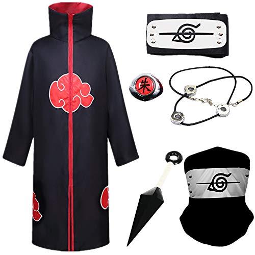 AOGD Naruto Akatsuki / Uchiha Itachi Cosplay Halloween Weihnachten...