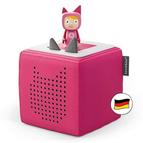 Toniebox Starterset in Pink: Toniebox + Kreativ-Tonie - Der tragbare...
