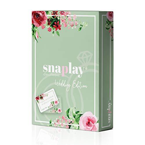 Snaplay I 65 Fotoaufgaben für die Hochzeit I Hochzeits-Spiel für...
