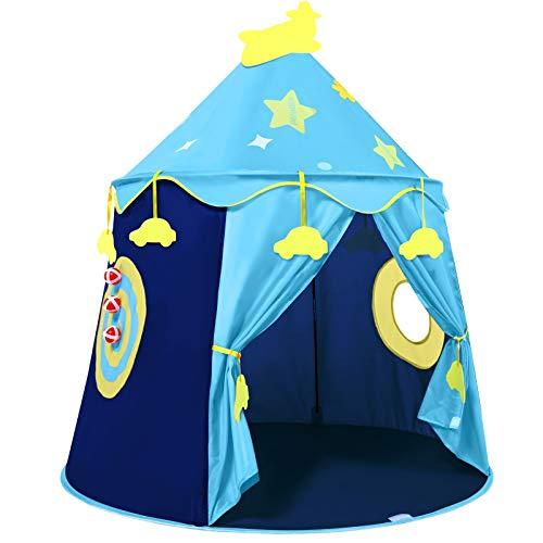 Peradix Spielzelt Prinzenschloss Zelt für Jungs Kleinkinder Pop-up...