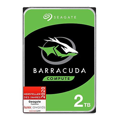 Seagate Barracuda, interne Festplatte 2 TB HDD, 3,5 Zoll, 7200 U/Min,...