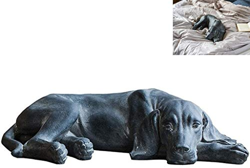 WQQLQX Statue Labrador Simulation Harz Hund Skulptur Magnesiumoxid...