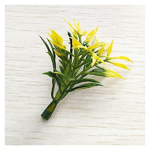 ZHANGHONGWEI Mini Kunststoff Künstliche Blume Kernstaub DIY Bonsai...