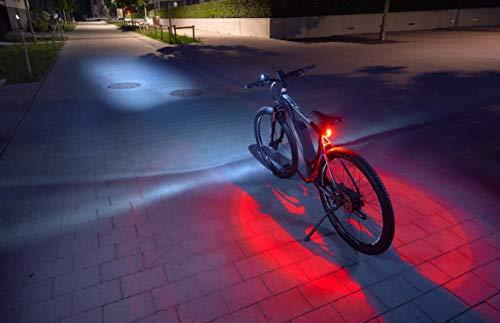 FISCHER USB Beleuchtungs-Set mit innovativer 360° Bodenleuchte für...