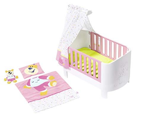 BABY born Sleepwell-Bett für 43cm Puppe - Leicht für Kleine Hände,...