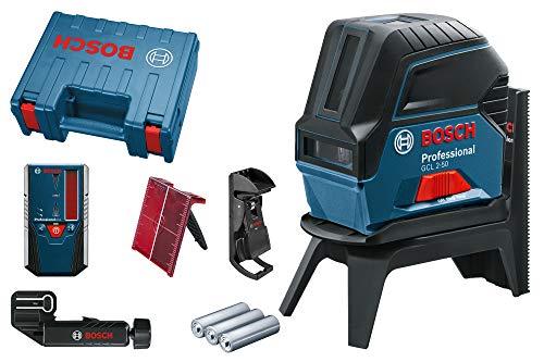 Bosch Professional Kreuzlinienlaser GCL 2-50 (5x AA Batterien,...