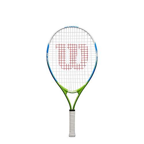 Wilson US Open 23, WRT20320U Racket Tennis Unisex Kinder, Blau/Gelb,...