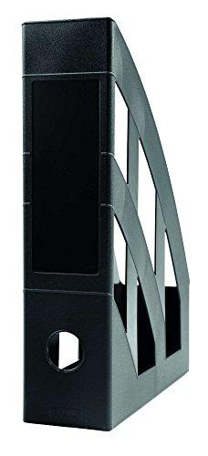 Idena 300847 - Stehsammler für DIN A4, aus Kunststoff, schwarz, 1...
