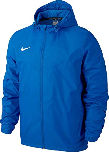 Nike Herren Regenjacke Team Sideline, blau/weiß, L, 645480-463