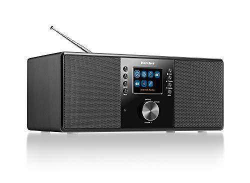 Karcher DAB 7000i Internetradio (DAB+ / UKW-RDS, WLAN & Bluetooth,...