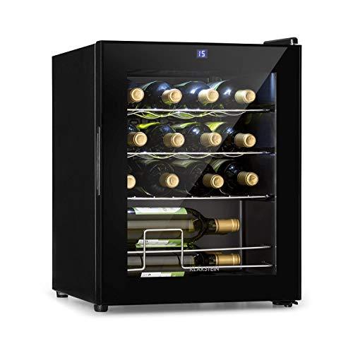 Klarstein - Weinkühlschrank 5-18 °C, 42 dB, Soft-Touch-Bedienfeld,...