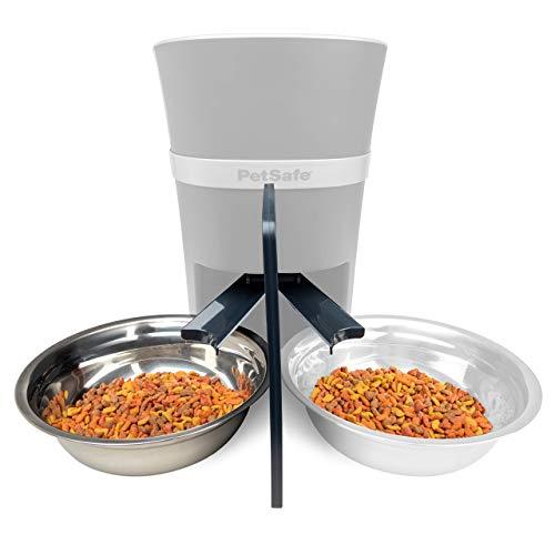 PetSafe Futterteiler für 2 Haustiere, Futterteiler für...