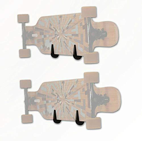 TronicXL 2 x Wandhalterung Backside für Skateboard Longboard...