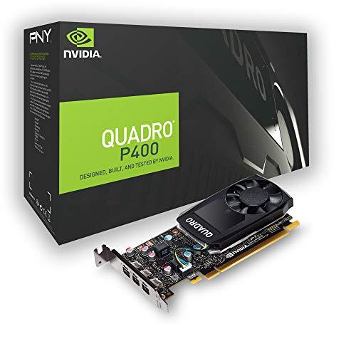 PNY Quadro P400 DVI Professional Grafikkarte 2GB GDDR5 PCI Express 3.0...