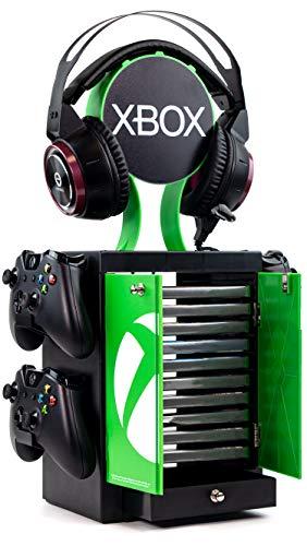 Numskull Offizieller Xbox Series X Spiele-Aufbewahrungsschrank,...