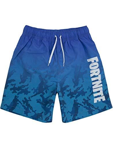 Fortnite Badeshorts für Jungen | Helle oder dunkelblaue...