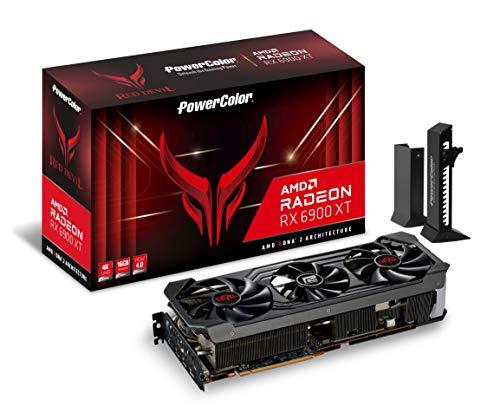 PowerColor Red Devil AMD Radeon RX 6900 XT Gaming Grafikkarte mit 16...