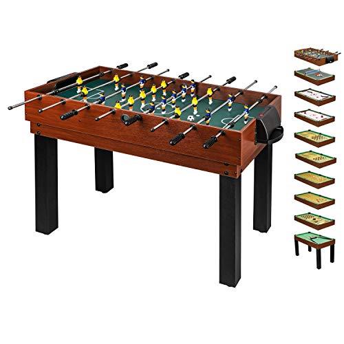 10 in 1 Multifunktionstisch für die ganze Familie - Multigame...