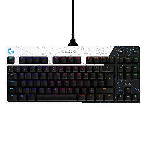 Logitech G PRO K/DA Mechanische Gaming-Tastatur, League of Legends...