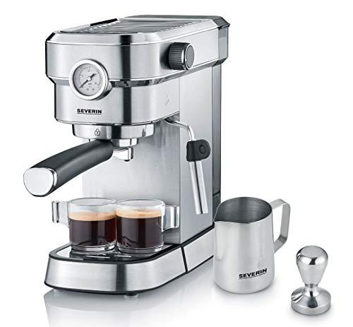 SEVERIN Espressomaschine 'Espresa Plus', Siebträgermaschine mit 3...