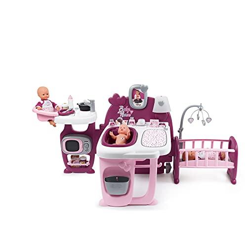 Smoby 220349 – Baby Nurse Spielcenter für Puppen – mit...