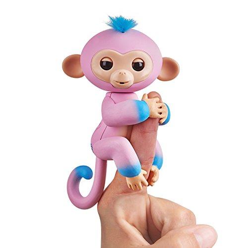 Fingerlings zweifarbiges Äffchen pink mit blau Candi 3722...