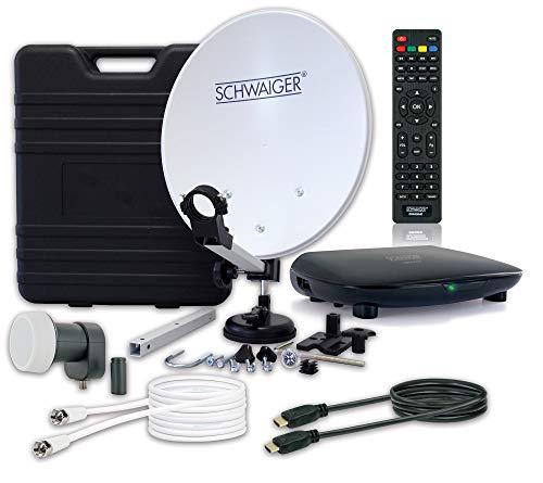 SCHWAIGER -9604- Camping-Sat-Anlage digital komplett /...