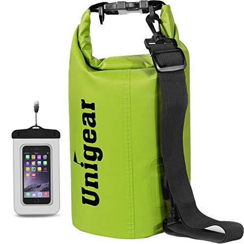 Unigear Dry Bag, Wasserdicht Taschen mit Handytasche und Gurte für...