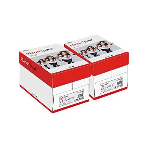 Plano Speed Allroundpapier Kopierpapier Druckerpapier, 80 g/m², 10 x...
