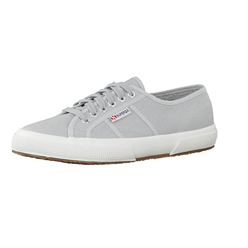 Superga Unisex 2750 Cotu Classic Sneaker, Grey Sage, 41 EU