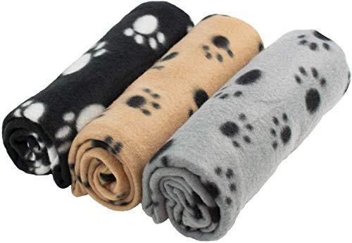 YIQI Haustierdecke für Hund/Katze, weich, Schondecke, Winterdecke,...