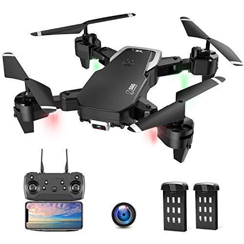 Drohne mit Kamera, Drohne für Anfänger, 1080P HD Faltbar RC...