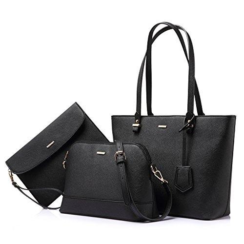 LOVEVOOK Handtasche Damen Shopper Schultertasche Blau Umhängetasche...