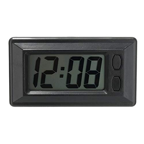 Ultradünne LCD-Digitalanzeige-Fahrzeug-Armaturenbrett-Uhr mit...