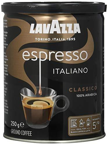 Lavazza Gemahlener Kaffee - Espresso Italiano - 1er Pack ( 1 x 250 g...