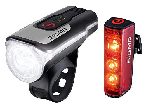 SIGMA SPORT - LED Fahrradlicht Set Aura 80 und BLAZE | StVZO...