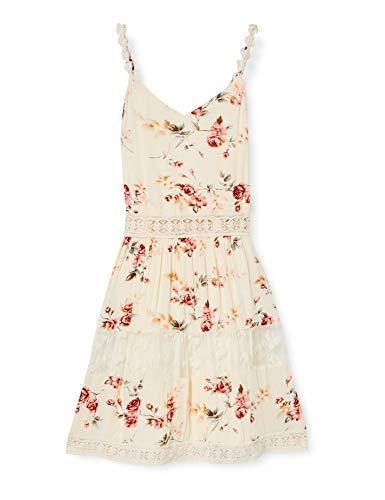 ONLY Damen ONLKARMEN Anne S/L Short Dress WVN NOOS Kleid, AOP:Rose...