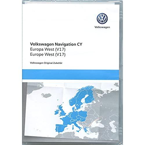 Volkswagen 1T0051859AS Navigations-DVD-ROM CY Europa West V17, nur...