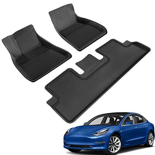 TAPTES Allwetter-Fußmatten für Tesla Model 3 2018 2019 2020...